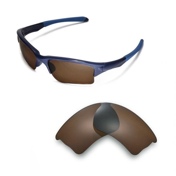 ea3477db2c698 ... Lenses For Oakley Quarter Jacket Sunglasses. Color   Polarized Lenses    Brown