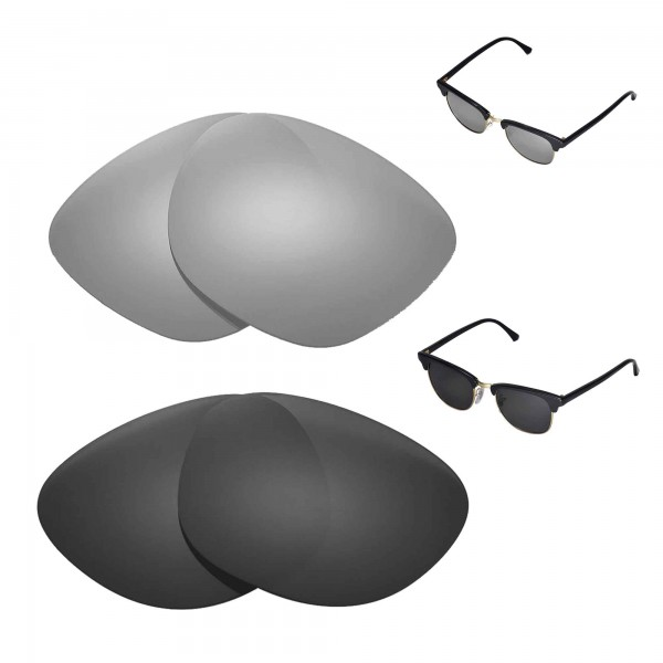 78353c06f8 ... Replacement Lenses For Ray-Ban Clubmaster RB3016 49mm Sunglasses. Color