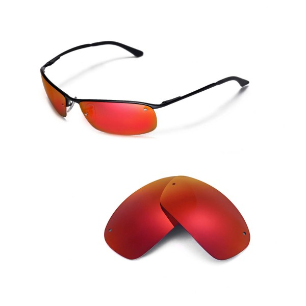... Ray-Ban RB3183 63mm Sunglasses. Color   Polarized Lenses   Fire Red 1f64760f20e6