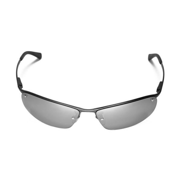 34b12d423e New Walleva Polarized Titanium Lenses For Ray-Ban RB3183 63mm Sunglasses