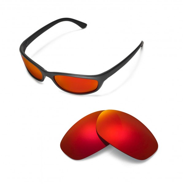 0794ca5a86 ... store new walleva polarized fire red lenses for ray ban rb4115  sunglasses 4badb 6af54