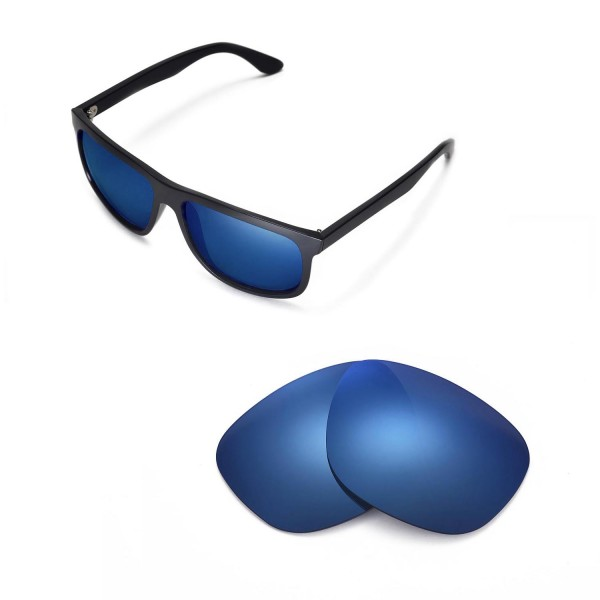 a0fae43c05 ... Replacement Lenses For Ray-Ban RB4147 60mm Sunglasses. Color   Polarized  Lenses   Ice Blue