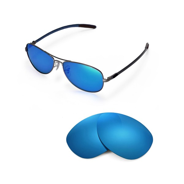 de9cd298c0 New Walleva Ice Blue Polarized Replacement Lenses For Ray-Ban RB8301 59mm  Sunglasses. Color   Polarized Lenses   Ice Blue