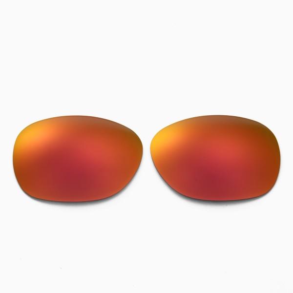 86796b68404 New Walleva Polarized Fire Red Lenses For Ray-Ban Wayfarer RB2132 55mm  Sunglasses