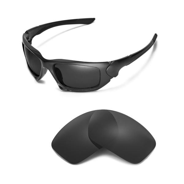 New Walleva Black Polarized Replacement Lenses For Oakley
