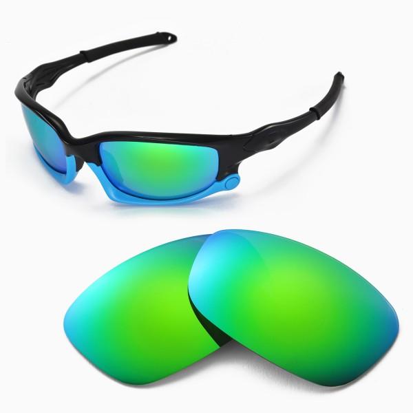 95ccf523c9a Walleva Replacement Lenses for Oakley Split Jacket Sunglasses ...