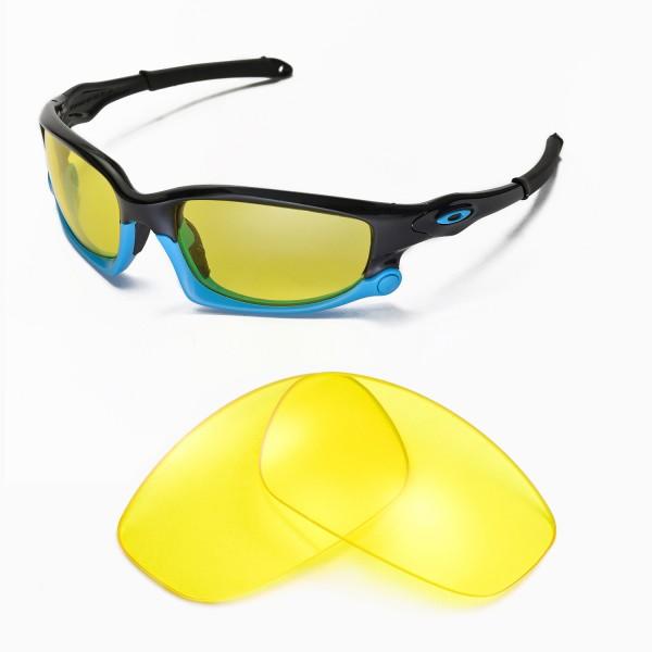 06535a65744 ... Oakley Split Jacket Sunglasses. Color   Non-Polarized Lenses   Yellow