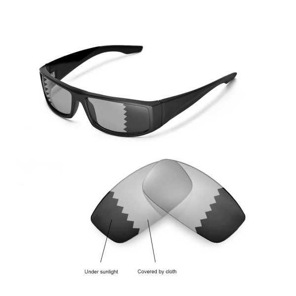 8ccd789ea63 New Walleva Transition Photochromic Polarized Replacement Lenses For Spy  Optic Cooper Sunglasses
