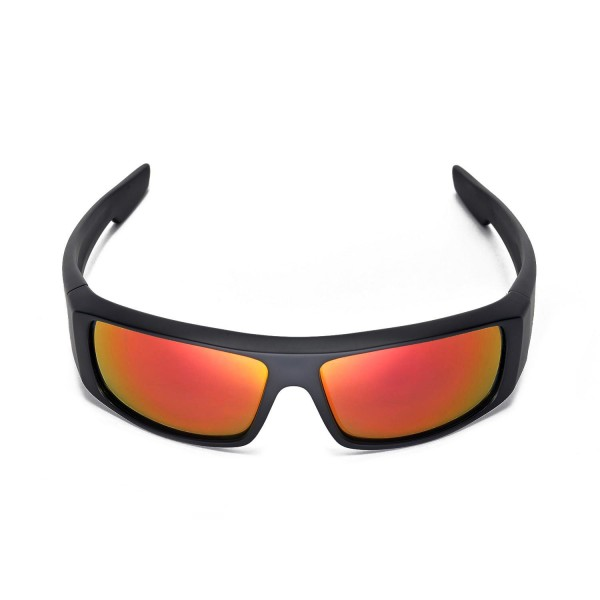 906109bdb4 Walleva Polarized Fire red Lenses For Spy Optic Logan .
