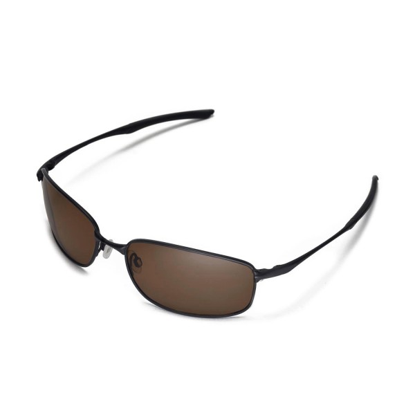 d59dfa26ef New Walleva Brown Polarized Replacement Lenses For Oakley Taper Sunglasses.  Color   Polarized Lenses   Brown