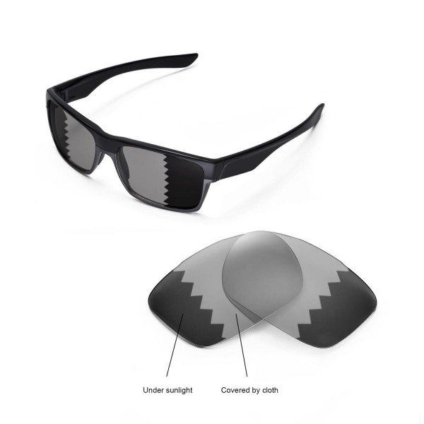 99d9f24860f New Walleva Transition Photochromic Polarized Replacement Lenses for Oakley  TwoFace Sunglasses