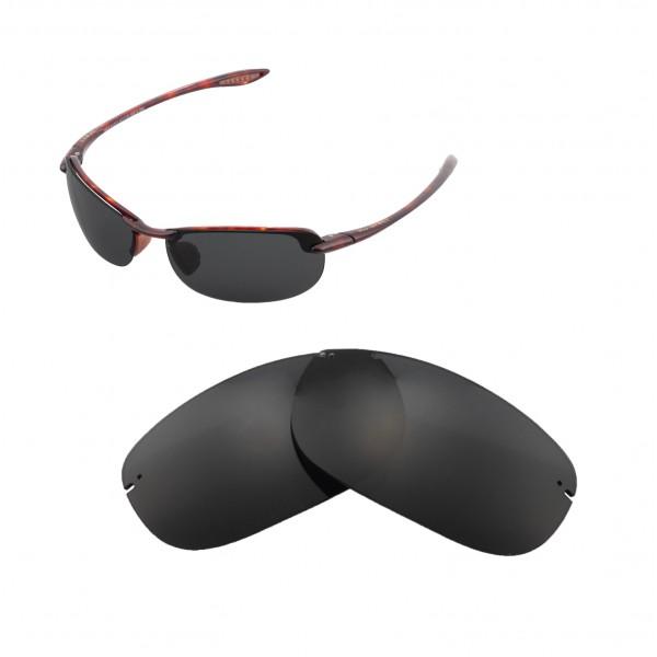 3b49949f5356 ... Replacement Lenses For Maui Jim Makaha Sunglasses. Color : Polarized  Lenses : Black