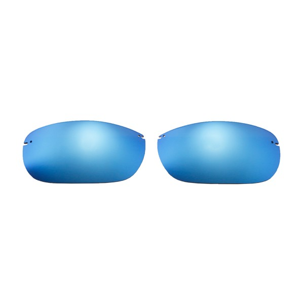 6e4a9126b3 New Walleva Ice Blue Polarized Replacement Lenses For Maui Jim ...