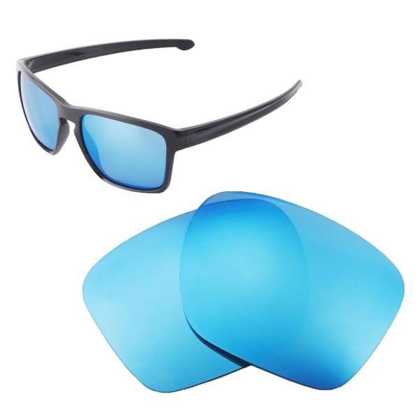 e463e06b40e ... Replacement Lenses For Oakley Sliver XL Sunglasses. Color   Polarized  Lenses   Ice Blue