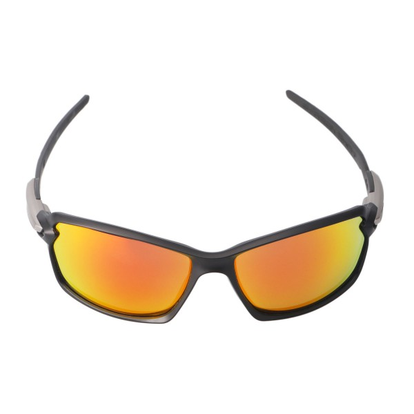 New Walleva Fire Red Polarized Replacement Lenses For ...
