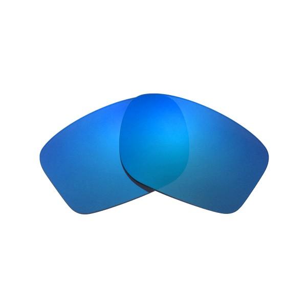 e1e8e2a409bfa3 New Walleva Ice Blue Polarized Replacement Lenses For Oakley Chainlink  Sunglasses