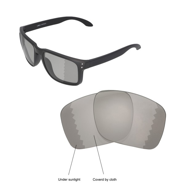 1fc743599b51a New Walleva Transition Photochromic Polarized Replacement Lenses For Oakley  Holbrook XL Sunglasses. Color   Polarized Lenses   Transition