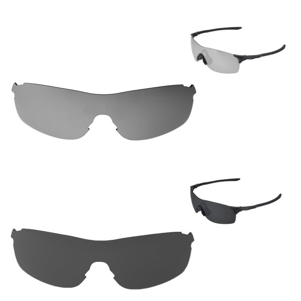 5c591c9c68 ... Black Polarized Replacement Lenses For Oakley EVZero Pitch Sunglassess.  Color