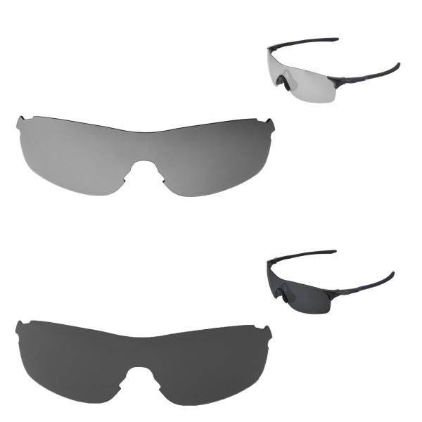 a7d56a242e ... Black Polarized Replacement Lenses For Oakley EVZero Pitch Sunglassess.  Color