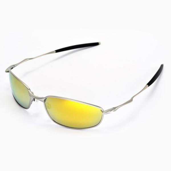 96702d617b4 Walleva Replacement Lenses for Oakley Whisker Sunglasses - Multiple Options  Available (24K Gold .