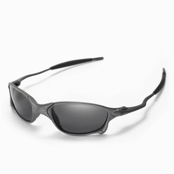 59f4bf9621a Walleva Replacement Lenses for Oakley X Metal XX Sunglasses - Multiple  Options Available (Black - Polarized)