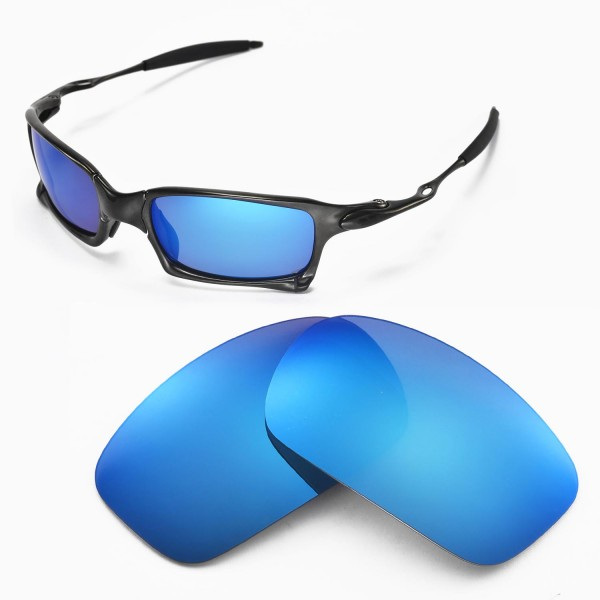 e294ac4df3 Walleva Replacement Lenses for Oakley X Squared Sunglasses ...