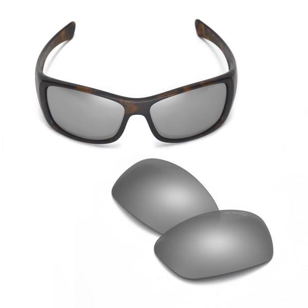 c8e585ea1d ... Replacement Lenses for Oakley Hijinx Sunglasses. Color   Mr. Shield Polarized  Lenses   Titanium