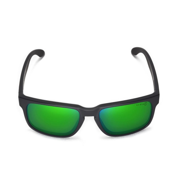 c047adbbd4 Walleva Emerald Mr.Shield Polarized Replacement Lenses for Oakley Holbrook  Sunglasses. Color   Mr. Shield Polarized Lenses   Emerald