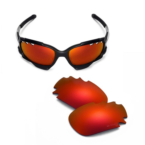 044f3088140 ... Replacement Vented Lenses for Oakley Jawbone Sunglasses. Color   Mr.  Shield Polarized Lenses   Fire Red
