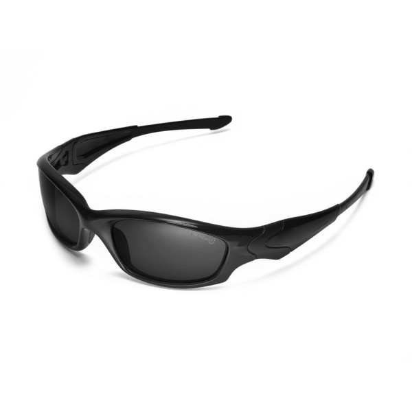 Walleva Mr Shield Polarized Black Replacement Lenses For