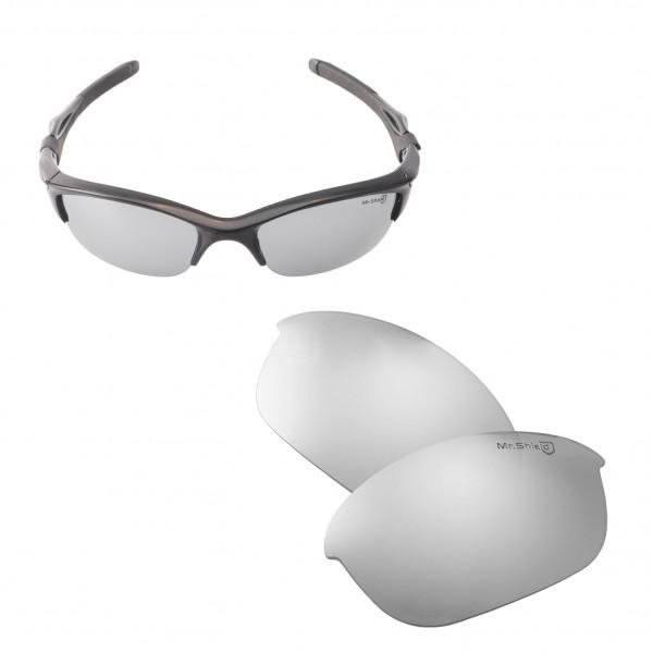 8d93936867 ... Oakley Half Jacket 2.0 Sunglasses. Color   Mr. Shield Polarized Lenses    Titanium