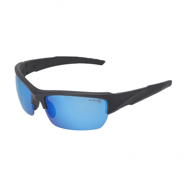 798c698dc1 Walleva Mr.Shield Ice Blue Polarized Replacement Lenses for Oakley Wiley X  Valor Sunglasses. Color   Mr. Shield Polarized Lenses   Ice Blue