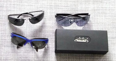 Review: Walleva WSG108+WSG002 Fire Red Sunglasses
