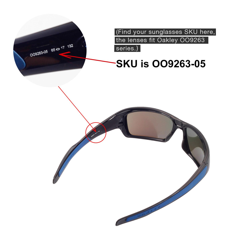 ce8e17ef89f02 Walleva Polarized Titanium Replacement Lenses For Oakley Turbine ...