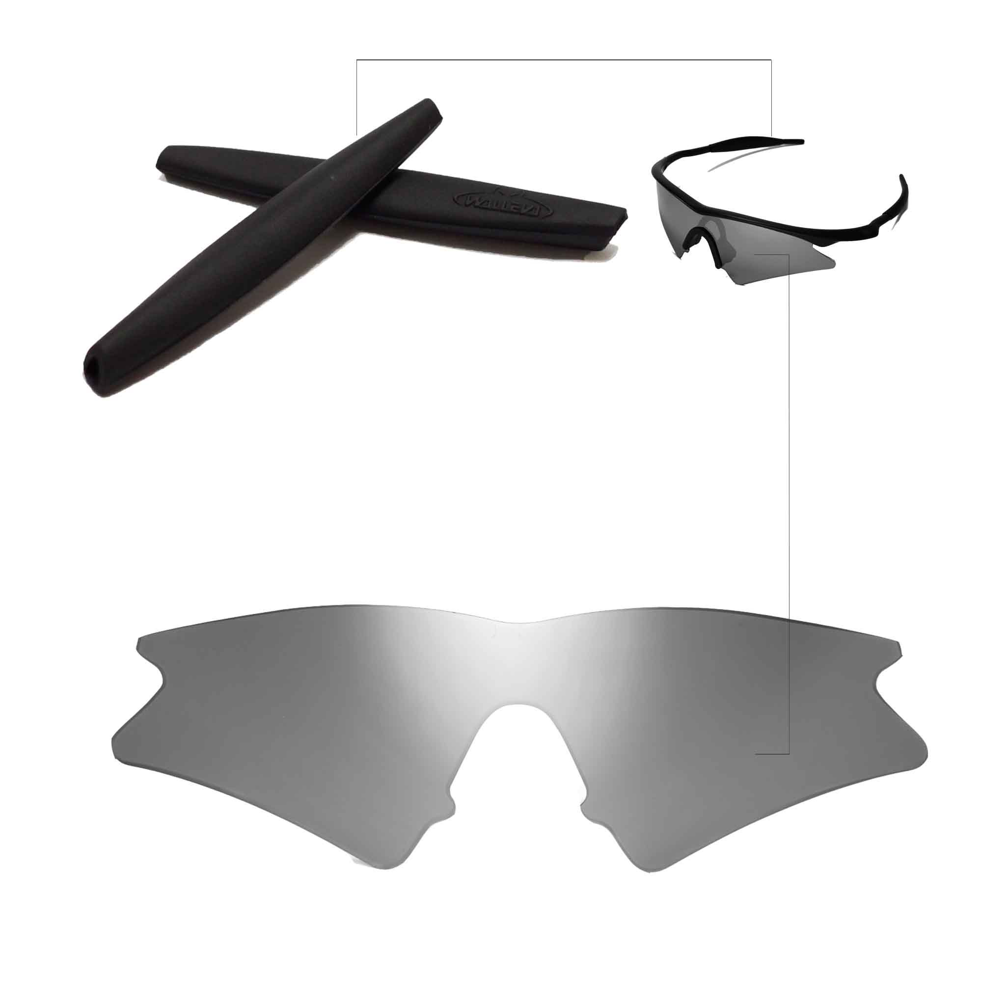 ... Black Earsocks For Oakley M Frame Sweep x1. main image