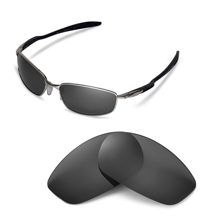 6038635a75 Details about Walleva Polarized Black Replacement Lenses For Oakley Blender  Sunglasses