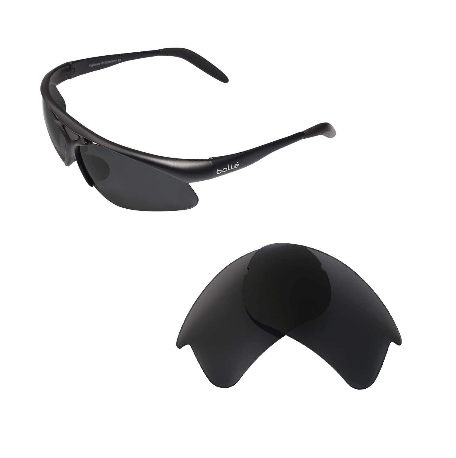 Walleva Sunglasses Multiple Replacement For About Options Lenses Bolle Vigilante Details qVSzUpGM