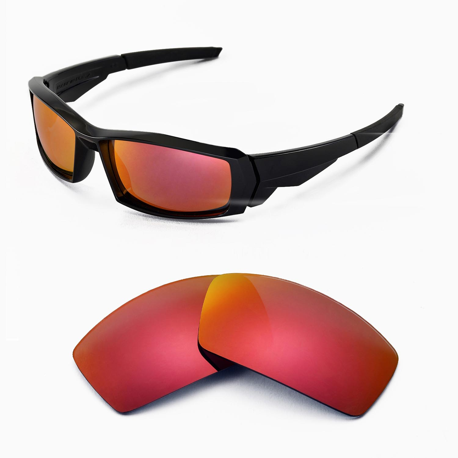 58ee074d659 Walleva Replacement Lenses for Oakley Canteen(2013 before)- Multiple ...