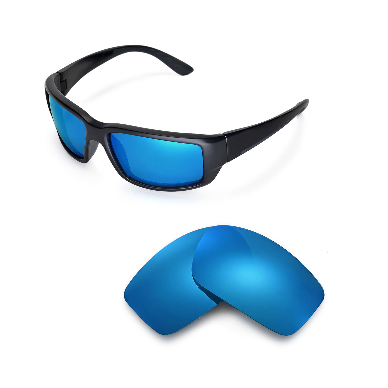 ec2c481f88b Walleva Replacement Lenses for Costa Del Mar Fantail Sunglasses ...