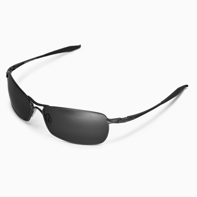 e083e5b6a4abb Walleva Polarized Black Lenses for Oakley Crosshair 2.0 x1  Walleva  Microfiber Lens Cleaning Cloth x1