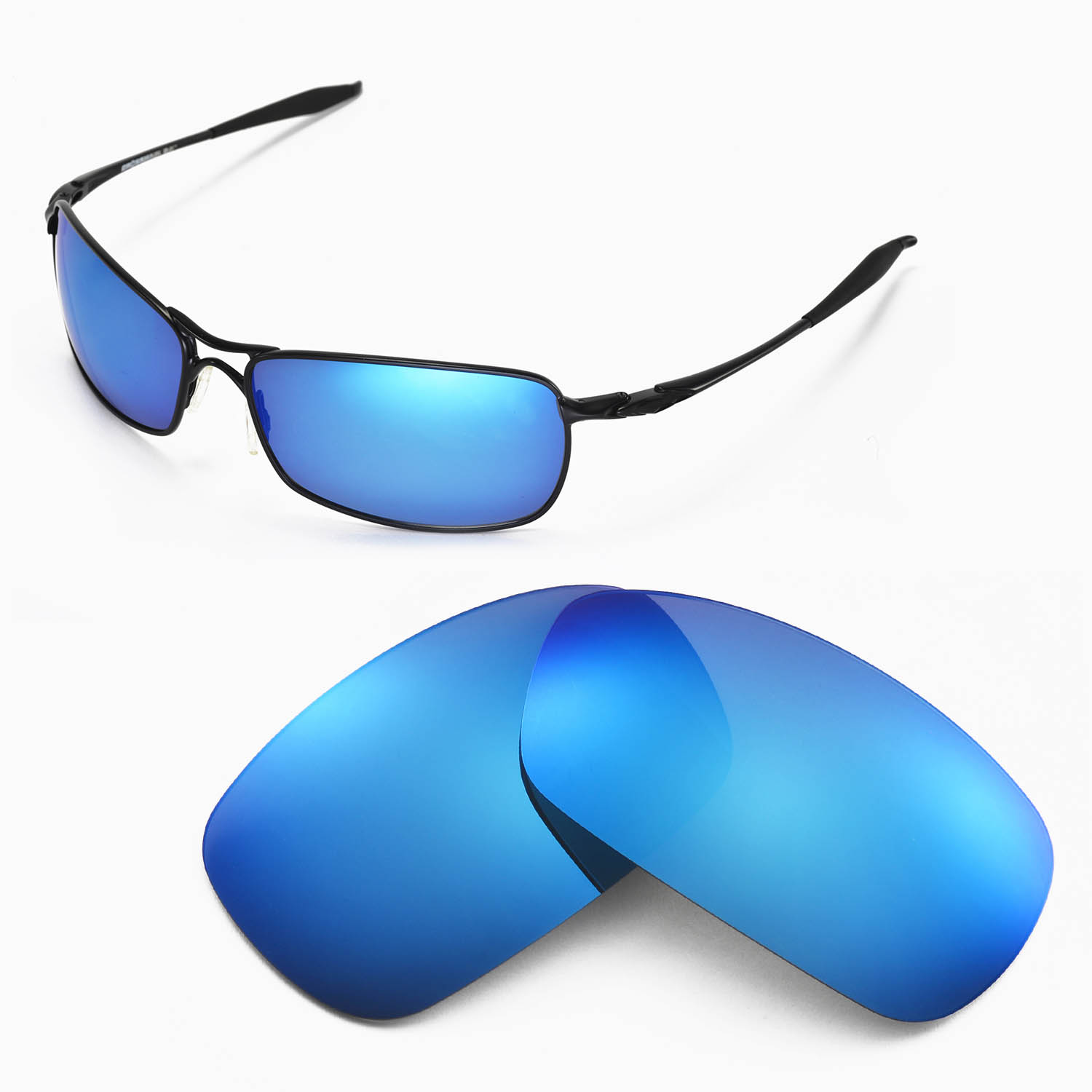 0a8182ec801 Details about New WL Polarized Ice Blue Replacement Lenses For Oakley  Crosshair 2.0 Sunglasses