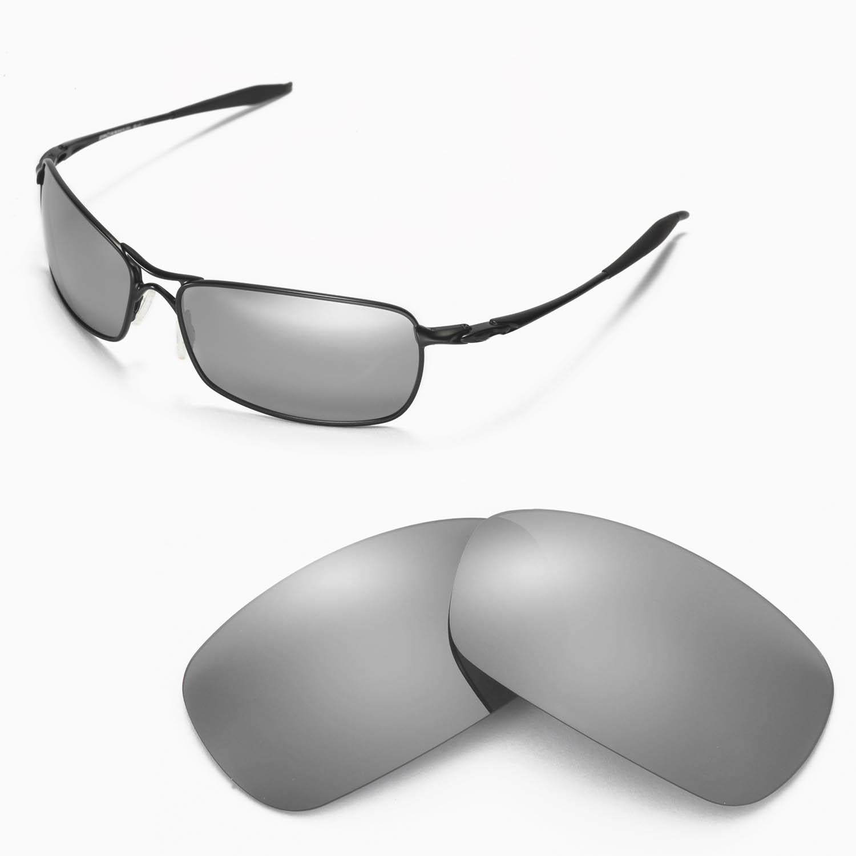 63152412c73 Details about New Walleva Polarized Titanium Lenses For Oakley Crosshair  2.0 (2010 version)