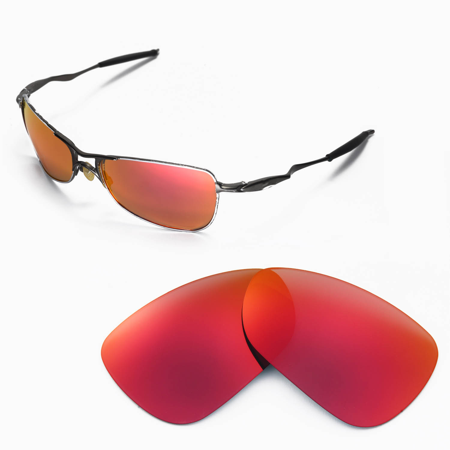 4c2946f6a1 Oakley Fire Red Lens