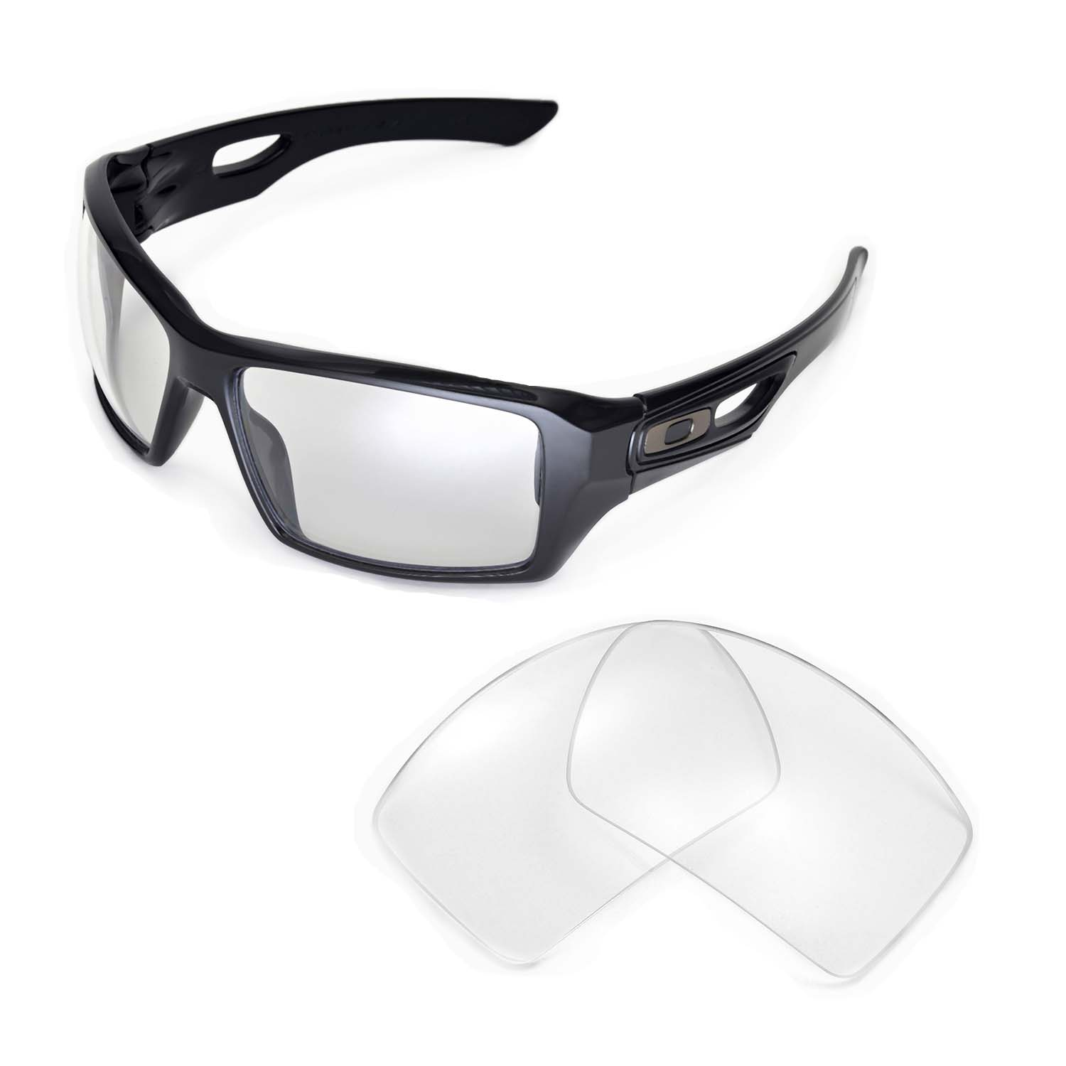 409a9ff911 ... Oakley Eyepatch 2 x1  Walleva Microfiber Lens Cleaning Cloth x1. main  image