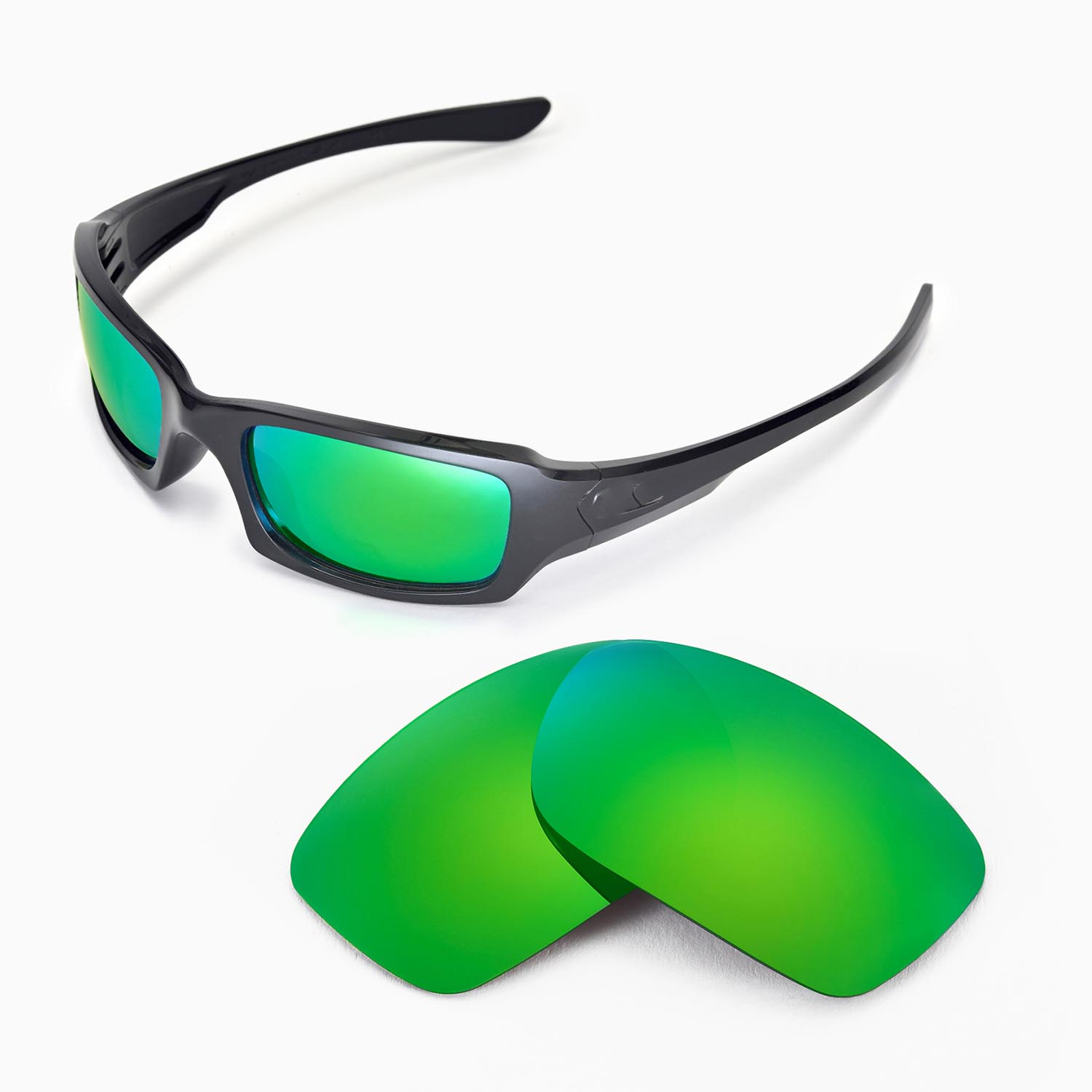 435a0527d0 Details about New WL Polarized Emerald Replacement Lenses For Oakley Fives  Squared Sunglasses