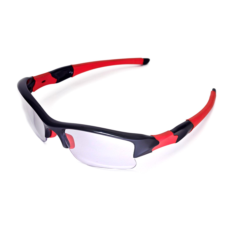 5b30c691ed Details about New Walleva Clear Replacement Lenses For Oakley Flak Jacket  XLJ Sunglasses