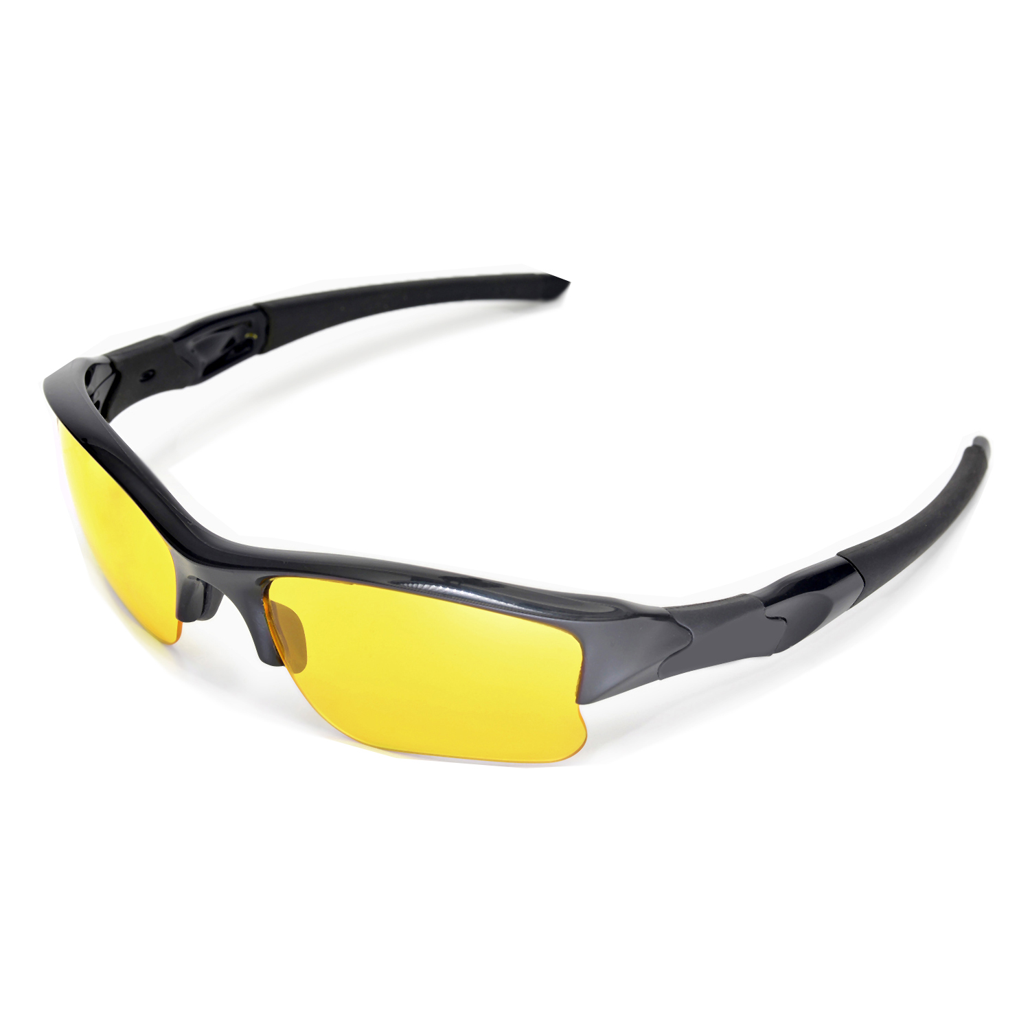 28e70f2226 Details about New Walleva Yellow Replacement Lenses For Oakley Flak Jacket  XLJ Sunglasses