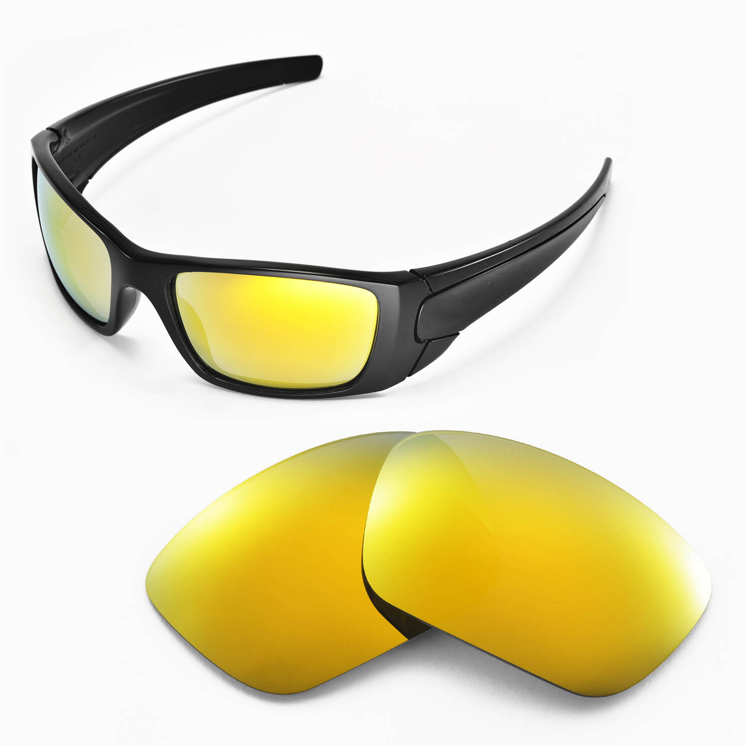 92b773ac7f Details about Walleva Replacement Lenses for Oakley Fuel Cell Sunglasses -  Multiple Options