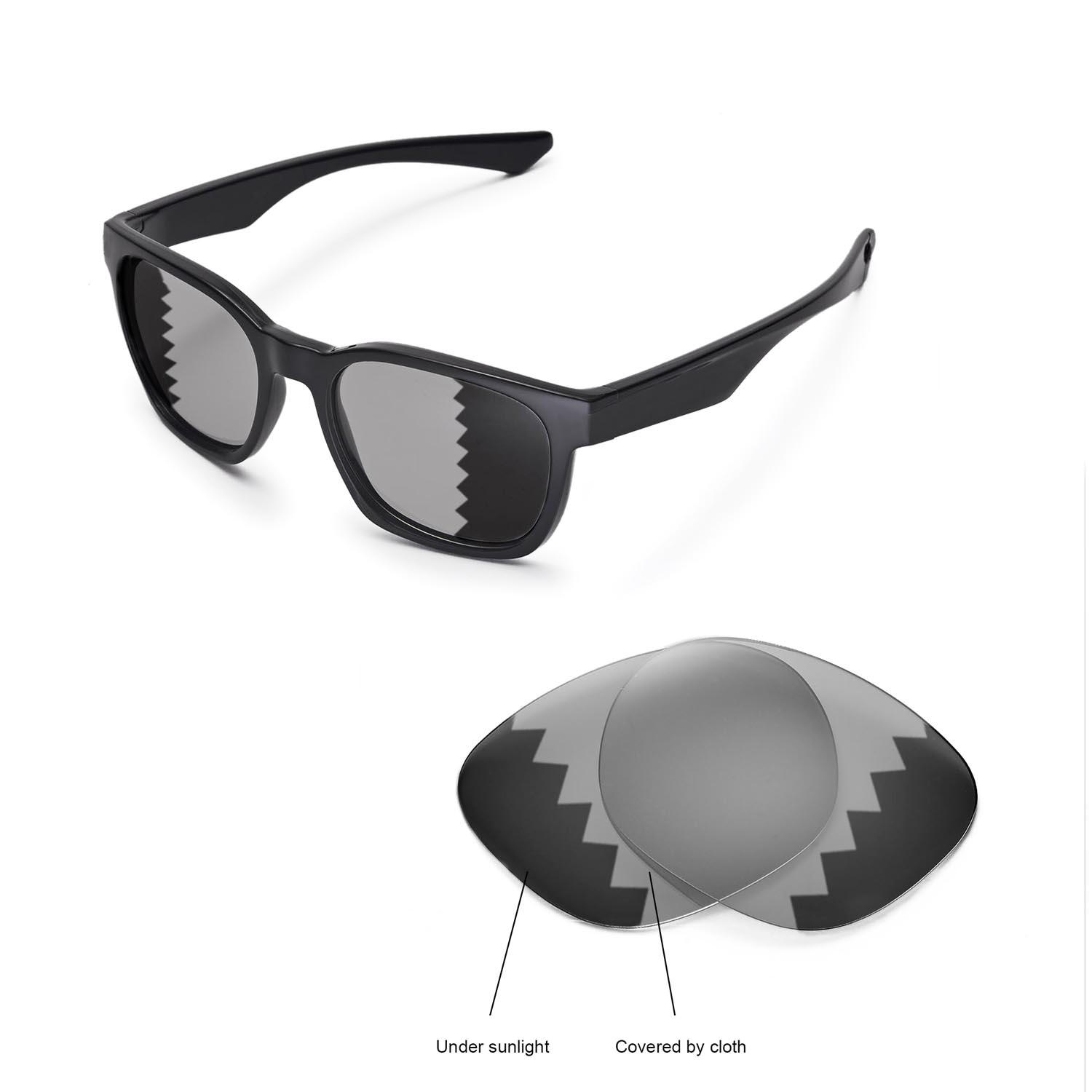 dbfdf187bf Details about New WL Polarized Transition Replacement Lenses 4 Oakley  Garage Rock Sunglasses