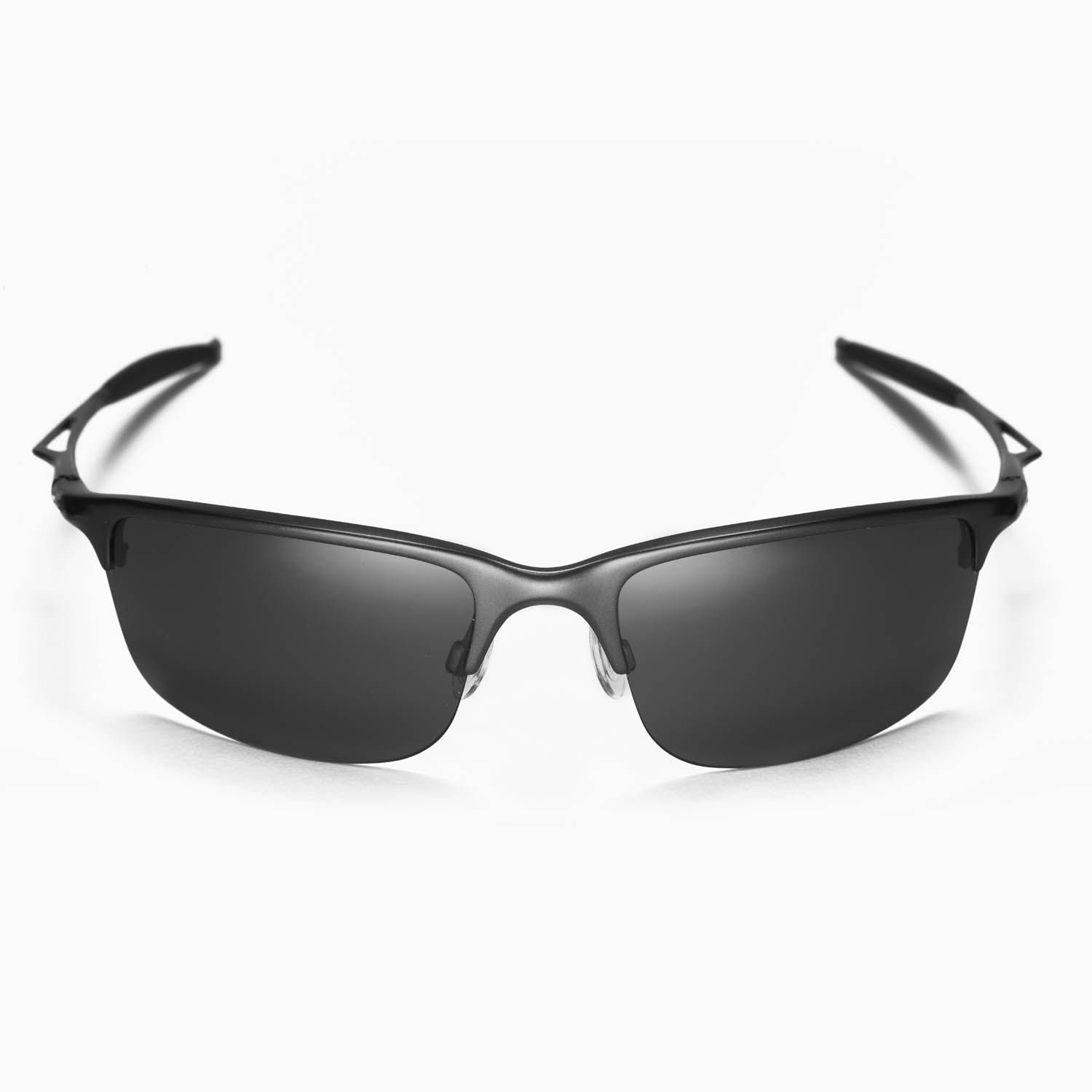 d03fea8f25 New Walleva Polarized Black Replacement Lenses For Oakley Half Wire ...